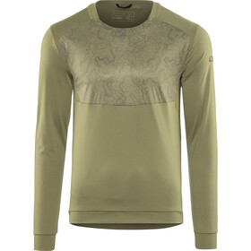 Cube AM Round Neck Jersey longsleeve Men olive